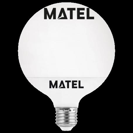 Bombilla Led Globo G95 E27 15w.FRIA Marca Matel