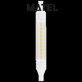 Bombilla led Lineal 360º  15x118mm.8w. NEUTRA Marca Matel