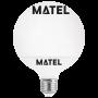 Bombilla led Globo G120 E27 18w.FRIA Marca Matel