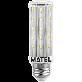 Bombilla led Tubular E27  8w.FRIA Marca Matel