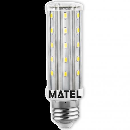 Bombilla led Tubular E27 10w CALIDA Marca Matel