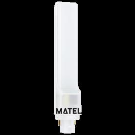 Bombilla Led PLC GIRATORIA 10w. 230V NEUTRA Marca Matel