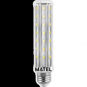 Bombilla Led Tubular E27 12w NEUTRA Marca Matel