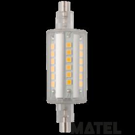 Bombilla led Lineal 360º  24x 78mm. 6W CALIDA Marca Matel
