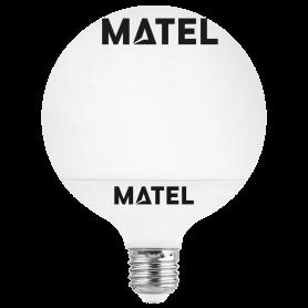Bombilla led Globo G120 REGULABLE E27 15w FRIA Marca Matel