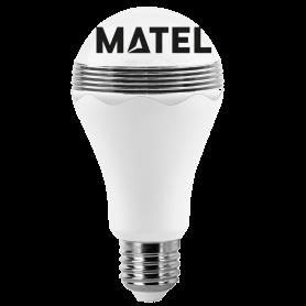 Bombilla Led estándar E27  7w NEUTRA ALTAVOZ Marca Matel