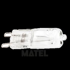 Bombilla Halogena Eco modelo G9 HI-PIN 42w.230v. Marca Matel