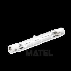 Bombilla Halogena Eco R7s.LINEAL  78 mm.  80 w. Marca Matel