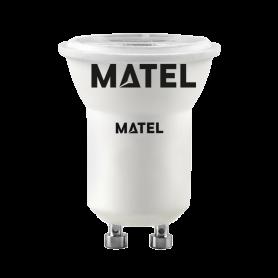 Bombilla led Dicroica  36º MR11 GU10 3w fría  Marca Matel