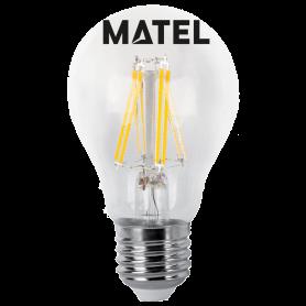 Bombilla Led Filamento estándar CLARA E27  6wCA Marca Matel