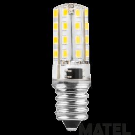 Bombilla led Silicona TUB.E14 3w.230v.FRIA Marca Matel