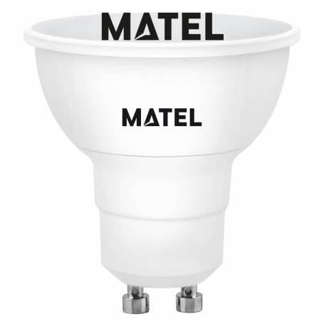 Bombilla led Dicroica 120º GU10  3w Neutra  Marca Matel