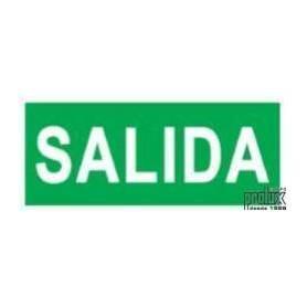 Pegatinas de señalización para emergencia led modelo DMS SALIDA marca Prolux
