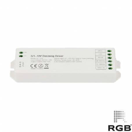 Controlador SMART 0-10V PUSH RGB 12/24V 288W 30m marca RGB