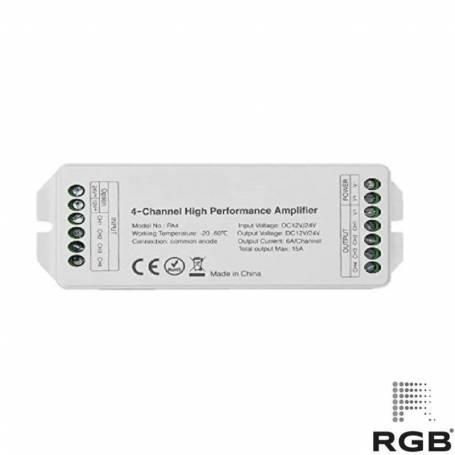 Amplificador todo en uno 12/24V 15A/360W IP20 marca RGB