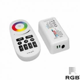 KIT MANDO+ CONTROLADOR RGB+W marca RGB