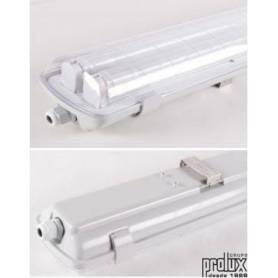 Pantalla Estanca policarbonato  para Tubo Led 1x1200mm 18 W (Tubos incluidos) marca Prolux