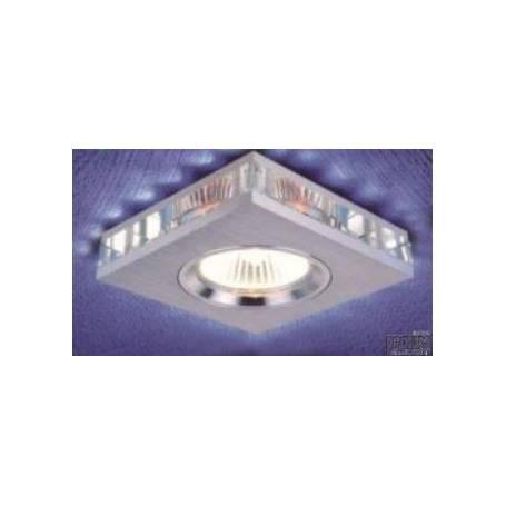 Aro empotrable cuadrado con cristal interior modelo 1415 marca Prolux