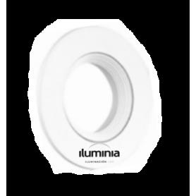 ARO DICROICA BUEMY CIRCULAR x1 Empotrable Orientable marca Iluminia
