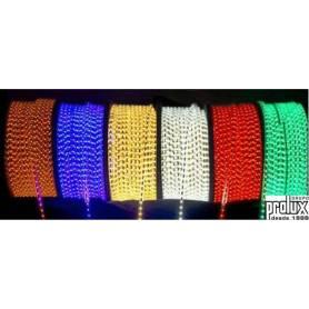 Tira de Led 230V modelo 5050IP67 60/M RGB marca Prolux