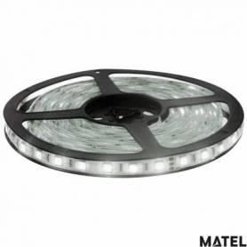 Kit Tiras de Led 3 Metros Adhesiva y Recortable  Luz Fria marca Matel
