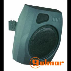 Caja acústica de 2 vías 12'' plástico de color negro MD-200T Golmar