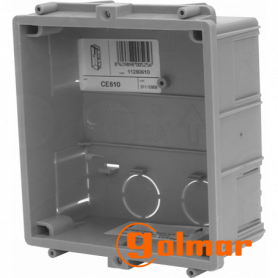 Caja de empotrar CE610 Golmar