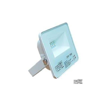 Proyector exterior led modelo LUX  IP66 10W 6500K marca Prolux