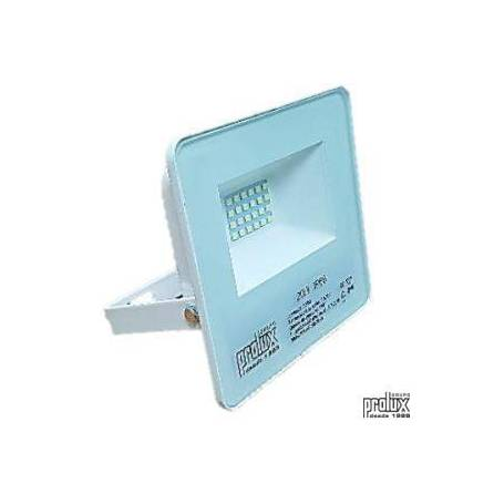 Proyector exterior led modelo LUX  IP66 20W 6500K marca Prolux
