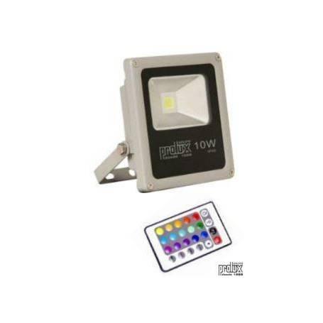 Proyector exterior led modelo PEG IP66 10W RGB marca Prolux