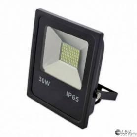 PROYECTOR LED SMD 30w 2700lm 120º 6000k IP65 NEGRO marca LDV