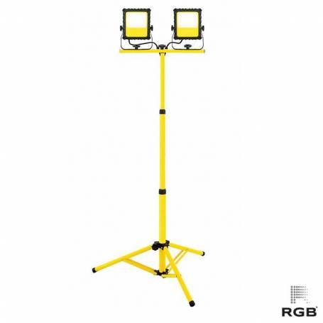 Soporte proyectores 2x20W 220V 2x1500Lm IP44 FRÍO marca RGB