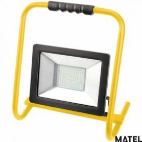 Proyector Led Plano Soporte 10W Luz Fria marca Matel