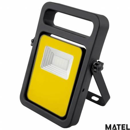 Proyector Led Aluminio Fundido Soporte/Goma  Luz Fria marca Matel