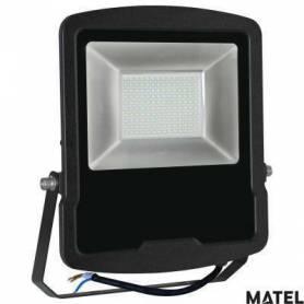 Proyector Led Aluminio Negro 150W Luz Fria marca Matel