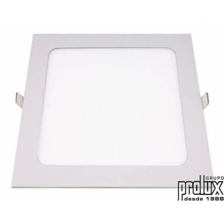 Downlight led cuadrado modelo  820 BLANCO 3000K marca Prolux