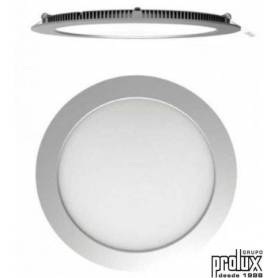 Downlight led redondo  modelo    PLATA 4200K marca Prolux