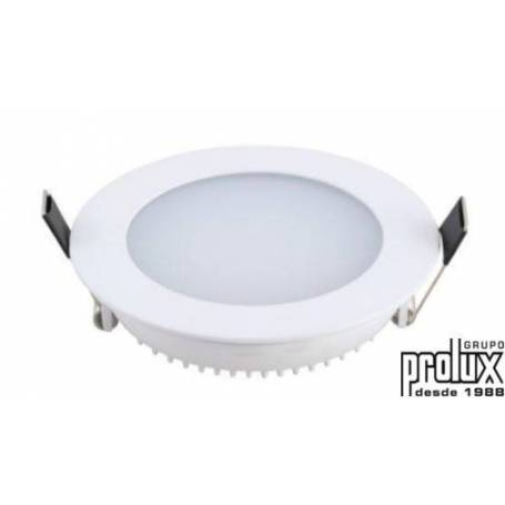 Downlight led redondo  modelo 610 PLATA 4200K marca Prolux