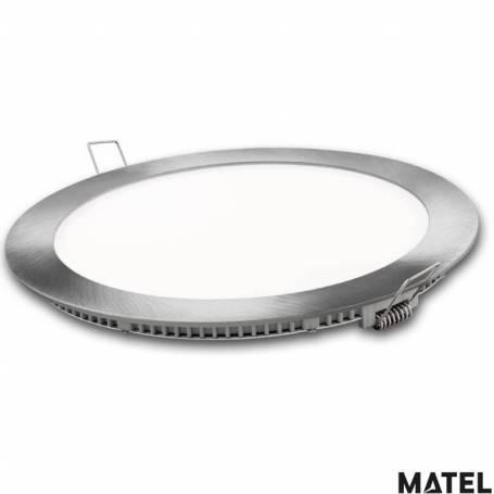 Downlight Led Aluminio Redondo Luz Fria marca Matel