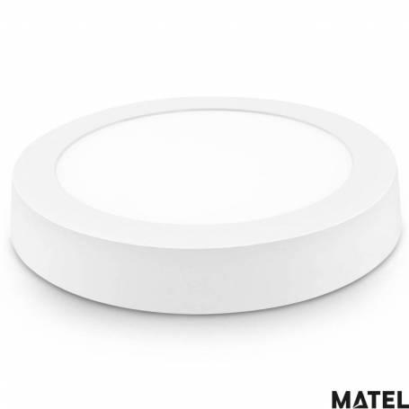 Downlight Led Aluminio Redondo Superficie Luz Neutra marca Matel
