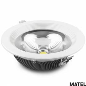 Downlight Led Aluminio PC Luz Fria marca Matel