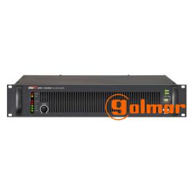 Amplificador Clase D de 1200W r.m.s. DPA-1200S Golmar