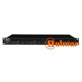 Amplificador de 4X300W r.m.s. DPA-430H Golmar
