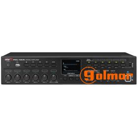 Amplificador de sobremesa de 480W r.m.s. PMU-480N Golmar