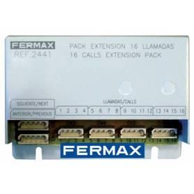 MODULO EXTENSION 16 LLAMADAS Marca FERMAX