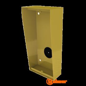 Caja de superficie con visera integrada NX872 GOLD Golmar