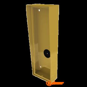 Caja de superficie con visera integrada NX873 GOLD Golmar