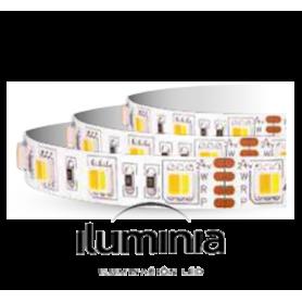 TIRA LED SMD5050 USO ALIMENTACIÓN ELITE line SMD5050 IP67 14,4 W/m 2700 K+6000 K+ROJO 60 L/m de Iluminia