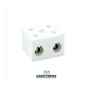CALOR-REGLETAS DE CERAMICA 10 mm2-1 polo  GAESTOPAS