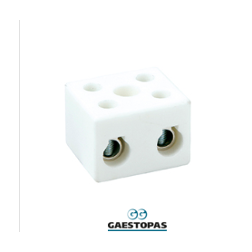 CALOR-REGLETAS DE CERAMICA 16 mm2-1 polo  GAESTOPAS